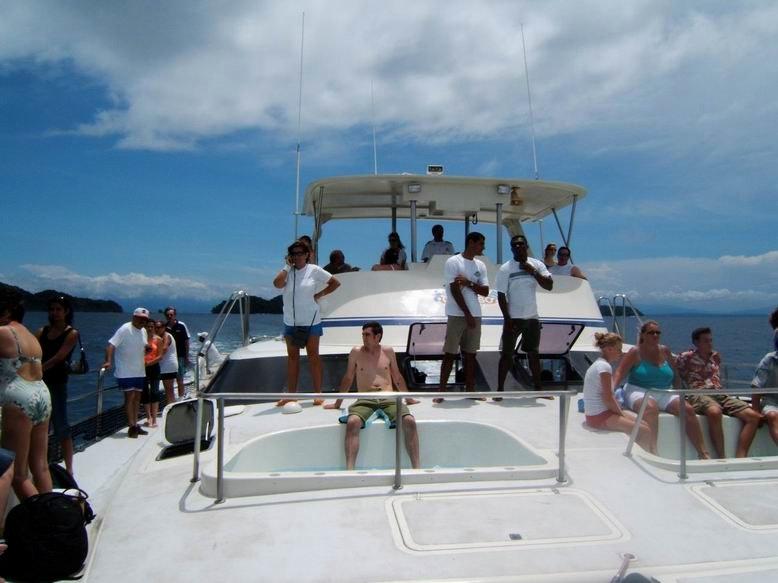 Croisière en catamaran à Isla Tortuga- Costa Rica