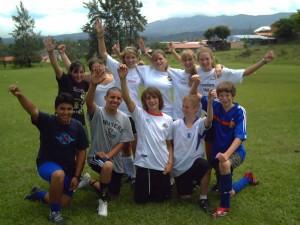 Camp de Soccer au Costa Rica