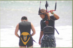 Espagnol et kitesurf à Manta en Equateur