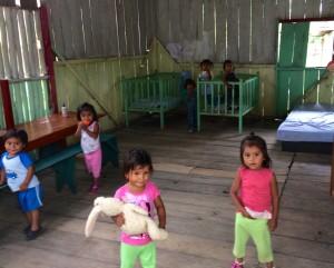 Garderie en projet de volontariat en Amazonie en Équateur