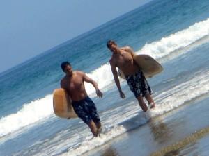 Surf et espagnol Equateur