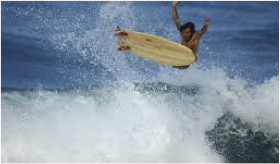 surf et immersion espagnole equateur