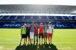 Camp de soccer Barcelone En Espagne